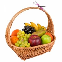 Basket with Fruit №3