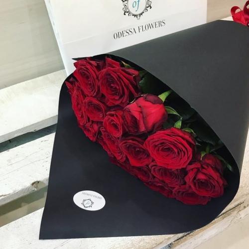 Букет Роз *Красная роза* 25 шт 60 см