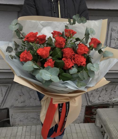 Букет Роз *Красная роза* 13 шт