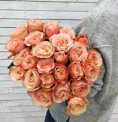 Букет Роз *Шоколадная роза* 25 шт