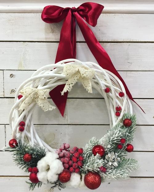 Венок на дверь *Новый Год* №1
