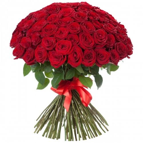 Букет Роз *Красная роза* 101 шт
