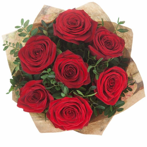 Bouquet of Roses *Red Rose* 7 pcs.