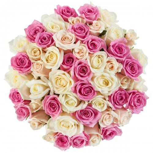 Букет Роз *Сбор роз* 51 шт