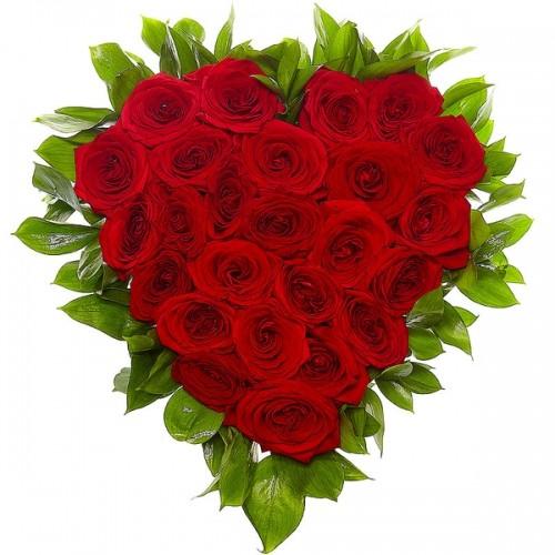 Сердце из Роз № 74