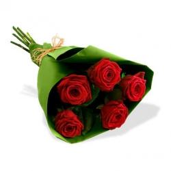 Букет Роз *Красная роза* 5 шт