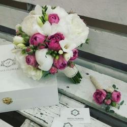 Свадебный букет №11