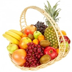 Basket with Fruit №1