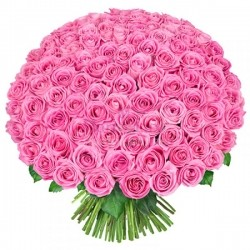 Bouquet of Roses *Pink Rose* 201 pcs.