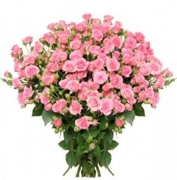 Букет *Кустовая Роза* 50 шт