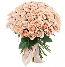 Букет Роз *Капучино роза* 51 шт