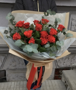 Bouquet of Roses *Red Rose* 13 pcs.