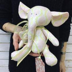 """Soft toy """"Elephant"""" № 4"""