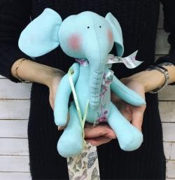 """Soft toy """"Elephant"""" № 2"""