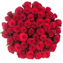 Букет Роз *Красная роза* 51 шт
