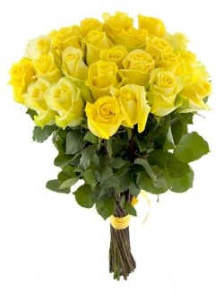 Bouquet of Roses *Yellow Rose* 25 pcs.