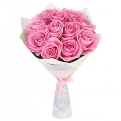 Bouquet of Roses *Pink Rose* 11 pcs.