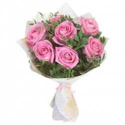 Bouquet of Roses *Pink Rose* 7 pcs.