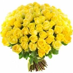 Букет Роз *Желтая роза* 101 шт
