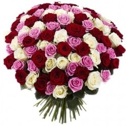 Bouquet of Roses *Variety of Roses* 101 pcs.