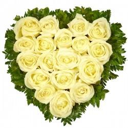 Серце из троянд № 73